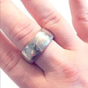 Jewelry - Ring band made of 1978 silver dollar